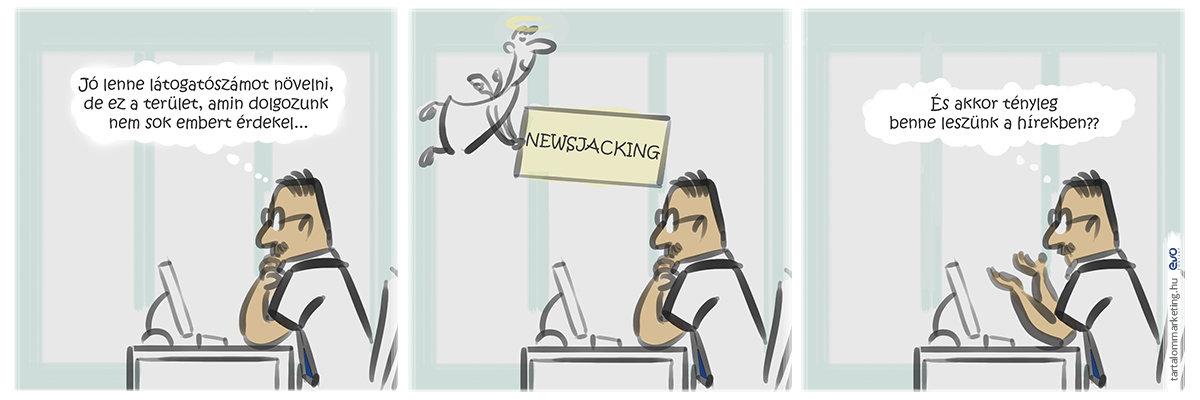 Hírvadászat: newsjacking magyarul
