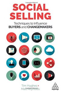 A Social selling című könyv borítója